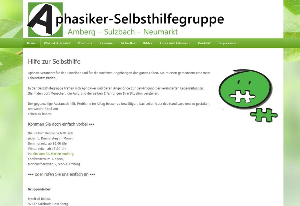 Aphasiker-Selbsthilfegruppe