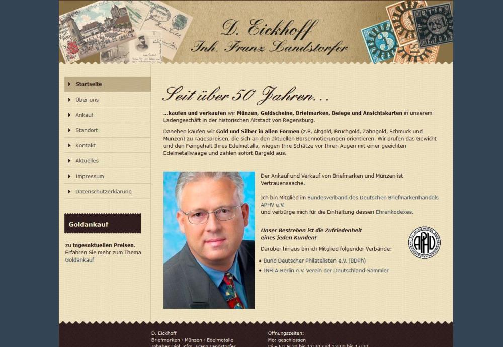 Briefmarken Eickhoff