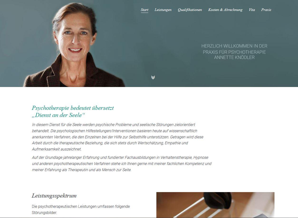 Praxis für Psychotherapie Anette Knödler