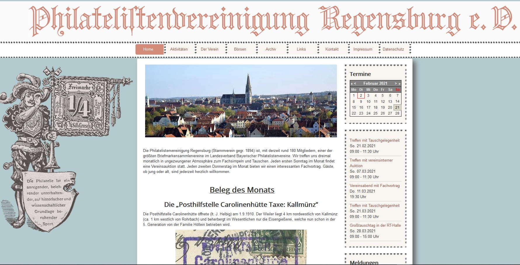 Philatelistenvereinigung Regensburg e.V.